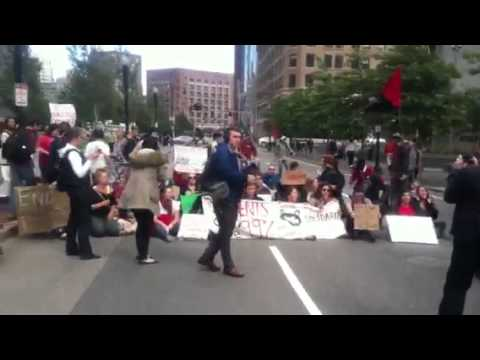 Occupy Boston Shuts Down Rose Kennedy Greenway