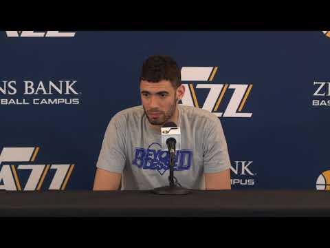 Georges Niang – End of Season Interview – Utah Jazz – 2017/2018 NBA Season (May 9, 2018)