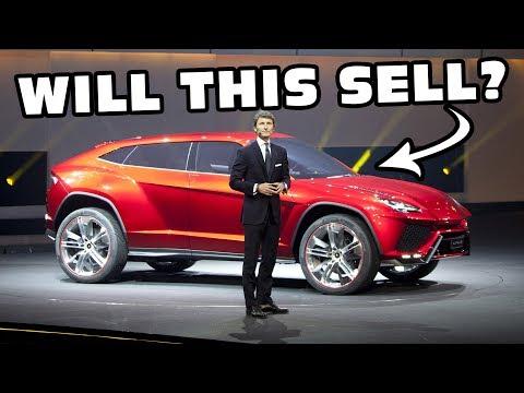 Lamborghini Urus SUV Official Launch