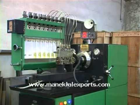 Manek - Diesel Fuel Injection Pump Test Bench - Model: SD-8