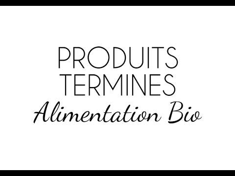PRODUITS TERMINES - ALIMENTATION BIO