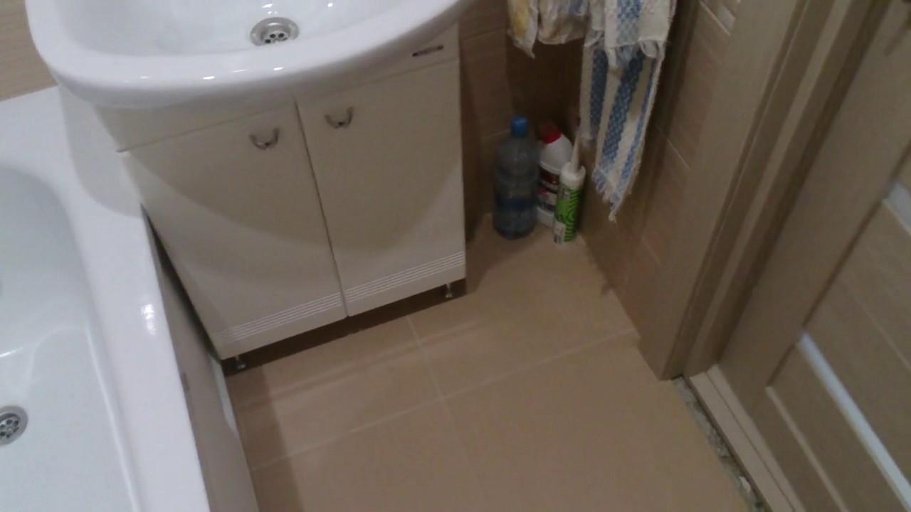 3).Очередной ремонт ванной комнаты. - YouTube