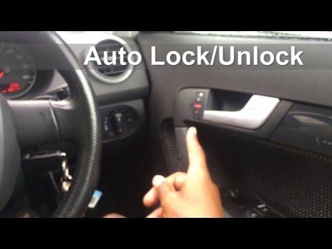 How to set up Auto Lock/Unlock On Audi A3/VW Golf MK5 using VCDS