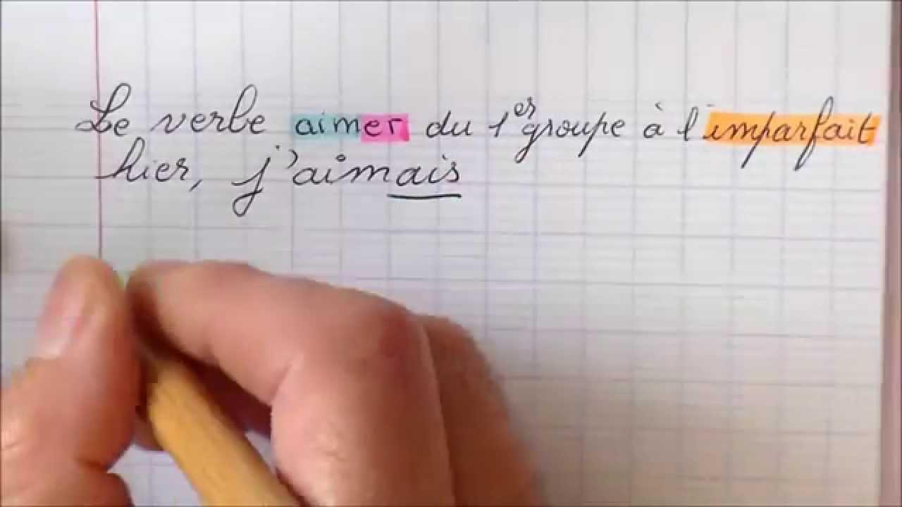 Conjugaison Du Verbe Aimer A L Imparfait Au Present Et Au Futur Youtube