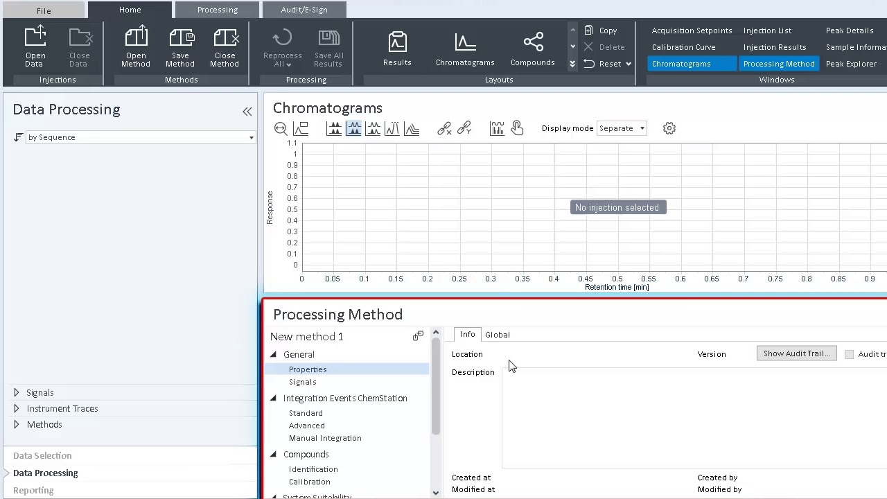 How to create a data processing method in OpenLab CDS