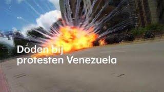 Doden bij explosieve protesten in Venezuela - RTL NIEUWS