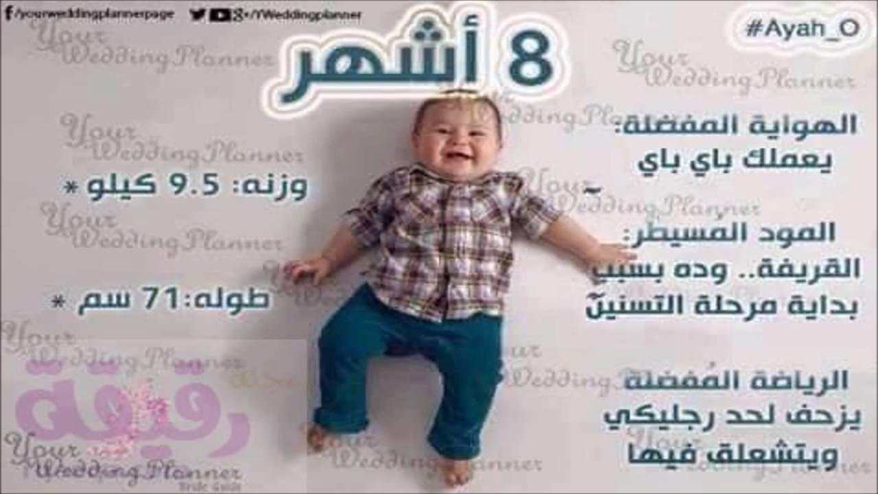 مراحل نمو الطفل فى عامه الاول بالصور مجلة رقيقة Youtube