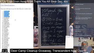 $1,000 Break Credit if All Breaks on BomberBreaks.com Fill - Let's Do it! Last Night till 12/4!
