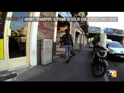 Money Transfer, il fiume di soldi che il fisco non vede
