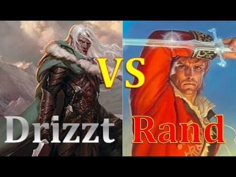 Rand al'Thor VS Drizzt Do'Urden (FANTASY CHARACTER TOURNAMENT FINAL)