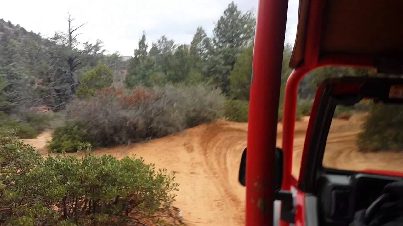 Sedona red rocks jeep tour
