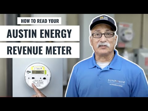 6. Read Your Austin Energy Revenue Meter