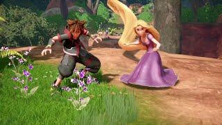 Kingdom Hearts III - LUCCA 2018 Tangled Trailer