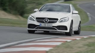 ► 2015 Mercedes C63 AMG S - First Drive on Racetrack