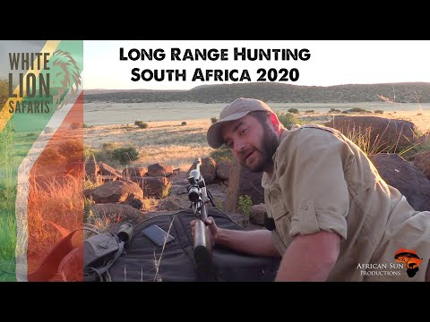 Long Range African Hunting with a surprise after credits! White Lion Safaris – host in South Africa