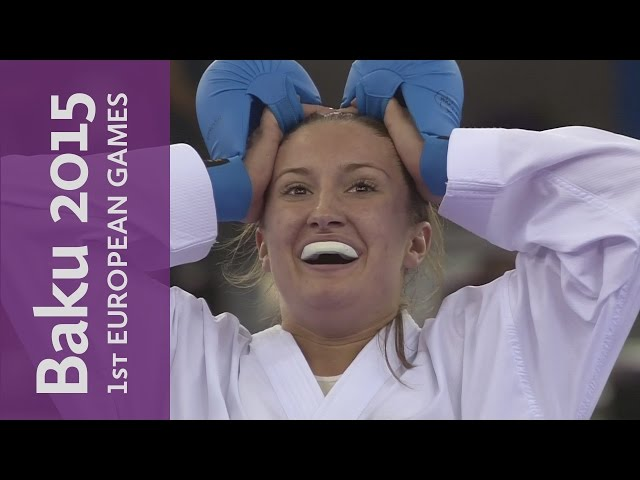 Golden display from Azerbaijan's Irina Zaretska | Karate | Baku 2015 European Games