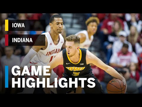 highlights:-iowa-at-indiana-|-big-ten-basketball