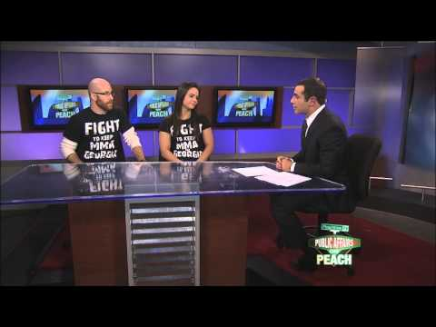 Stephen Upchurch interviewed on CBS Atlanta News about MMA