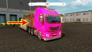 truck color pink truck With body #Truck #Toy #For kids