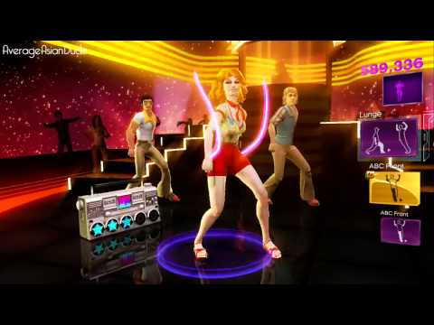 Dance Central 3 Funky Town Hard 100% 5 Gold Stars DC1 ...