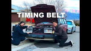 Timing Belt Part 2! Volvo 240 Restoration