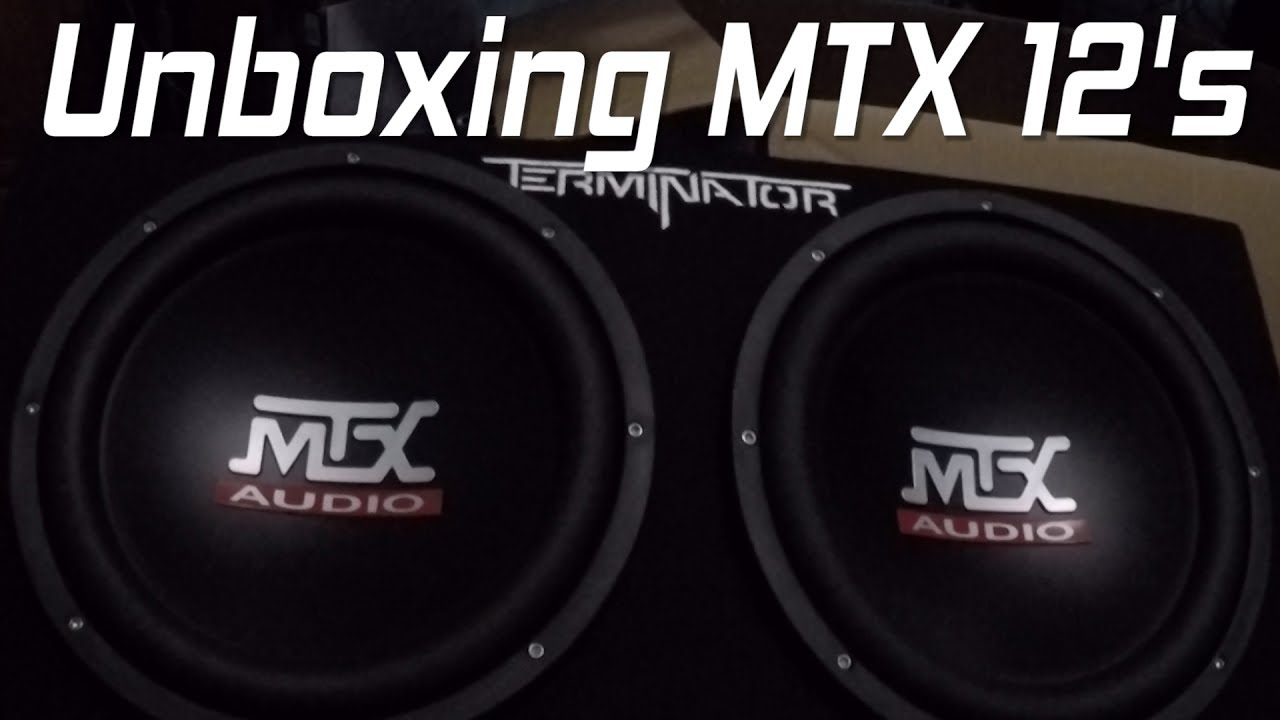Unboxing MTX Audio Terminator Amp & Sub Combo - MTX TNP212D2 Bass Package