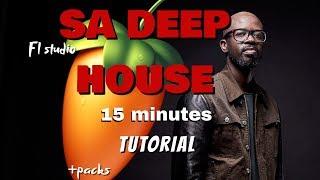 FL Studio || Deep house SA like Black coffee || afro house