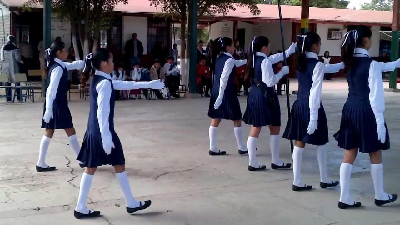 Rutina De Escolta De Bandera Josefa Ortiz De Dominguez