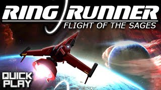 Quick Play - Ring Runner: Flight of the Sages - RPG Space Shooter Gameplay and Review (PC)