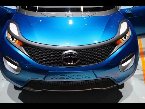 new car suv launches in 2015Tata Nexon Stylish New Concept Compact SUV from Tata Motors to be
