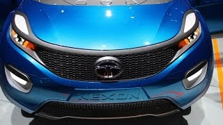 tata nexon stylish new concept compact suv from tata motors to be launched by 2015