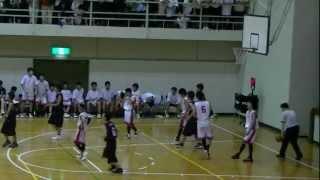 2012 福山市春季総体中学バスケ決勝 松永vs鷹取 5