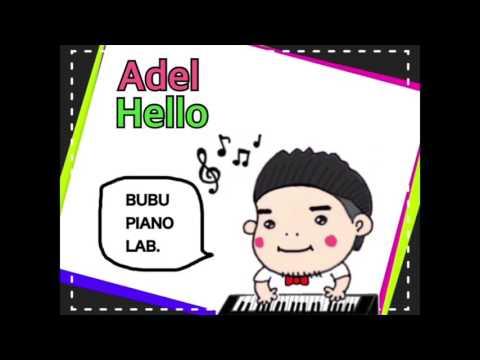 【ピアノ】Adele/Hello piano ver. アデル Taka from ONE OK ROCK