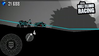 Gambar cover Hill Climb Racing - Daily Challenge Ragnarok Tron and Moonlander - Gameplay