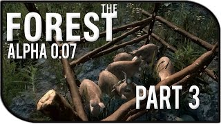 The Forest Gameplay Part 3 - Rabbit Cage!!! (v0.07)