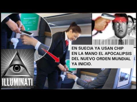 URGENTE !! EN SUECIA YA IMPLANTAN CHIP EN LA POBLACION INICIO EL NUEVO ORDEN MUNDIAL ILLUMINATI