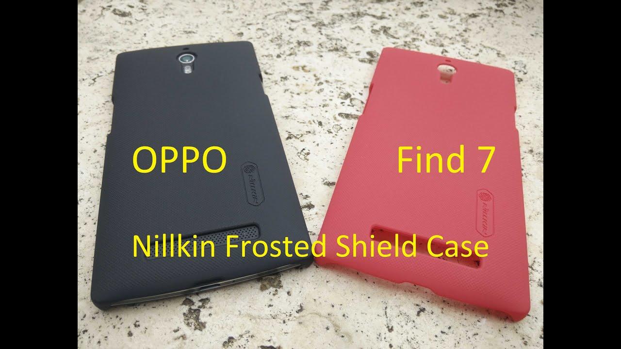 [Bemutató] OPPO Find 7 telefon tok - Nillkin Super Frosted Shield