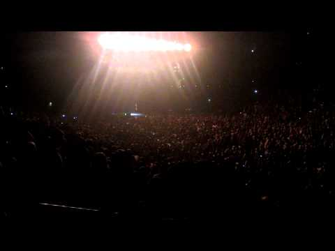 Eric Church crying on stage -