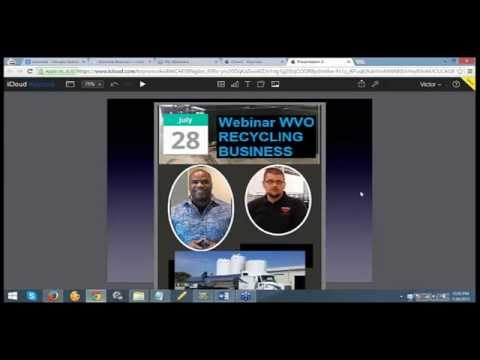 Used Cooking Oil Recycling Business Webinar