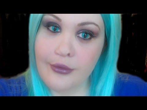 Aqua Blue Cat Eye Contacts