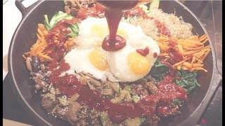 今天做个韩国拌饭希望大家喜欢