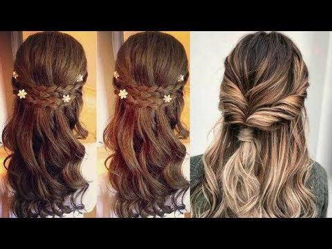 Easy Hairstyle FOR Beautiful Girl ⭐Amazing HAIRSTYLES TUTORIAL 😍 Hairstyle For Occasion  #6