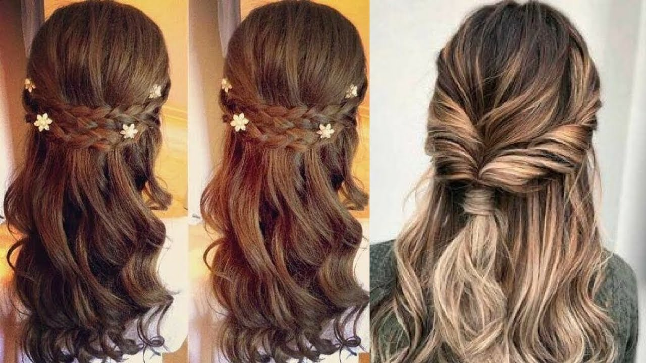 easy hairstyle beautiful girl