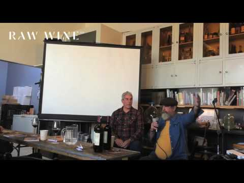 RAW WINE New York 2016 - Spotlight on America: Q&A with Tony Coturri. Hosted by Mike Colameco.