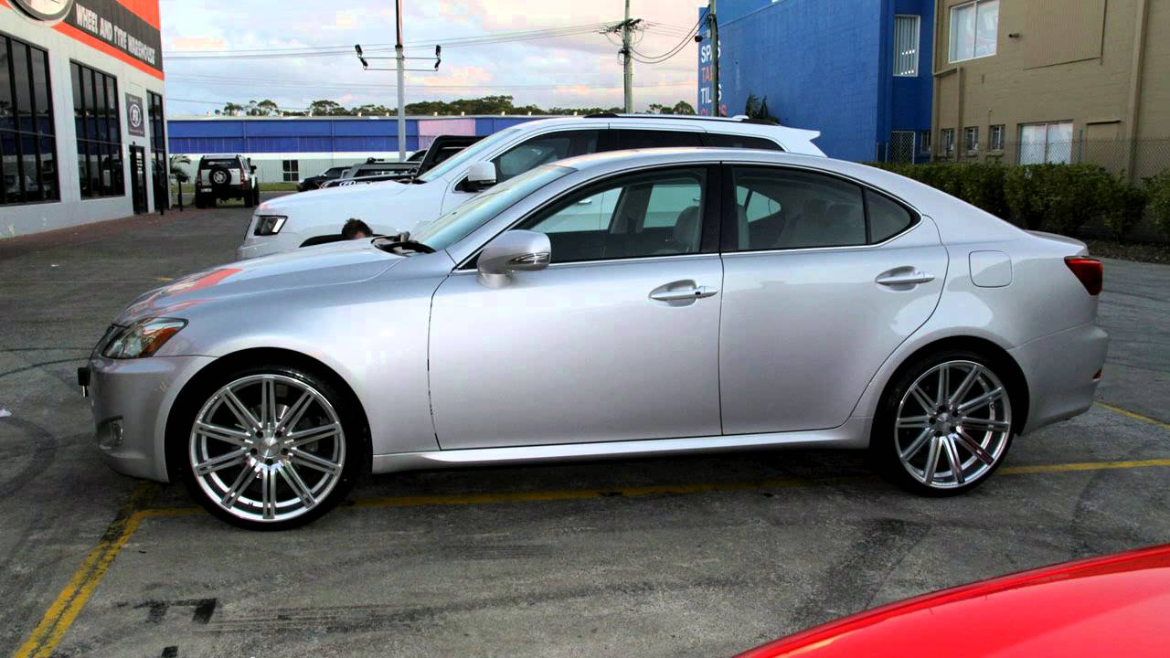 Lexus With 20 Inch Vossen Vvscv4 Custom Wheels Youtube
