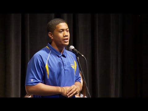 2015 Punahou School Damon Speech Contest Winners (March 10 & 11, 2015)