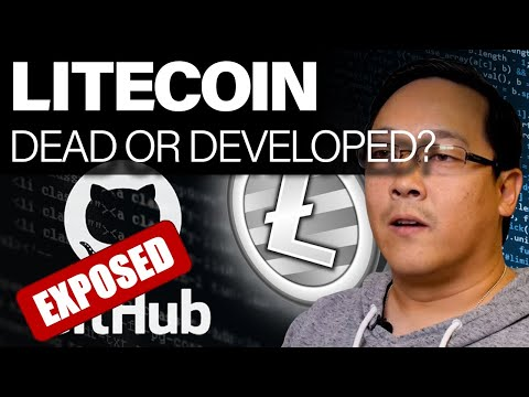 Litecoin: Dead Or Developed? GitHub Exposed! Can You Rely On GitHub Data??