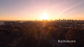 Baltimore by Drone in 4K