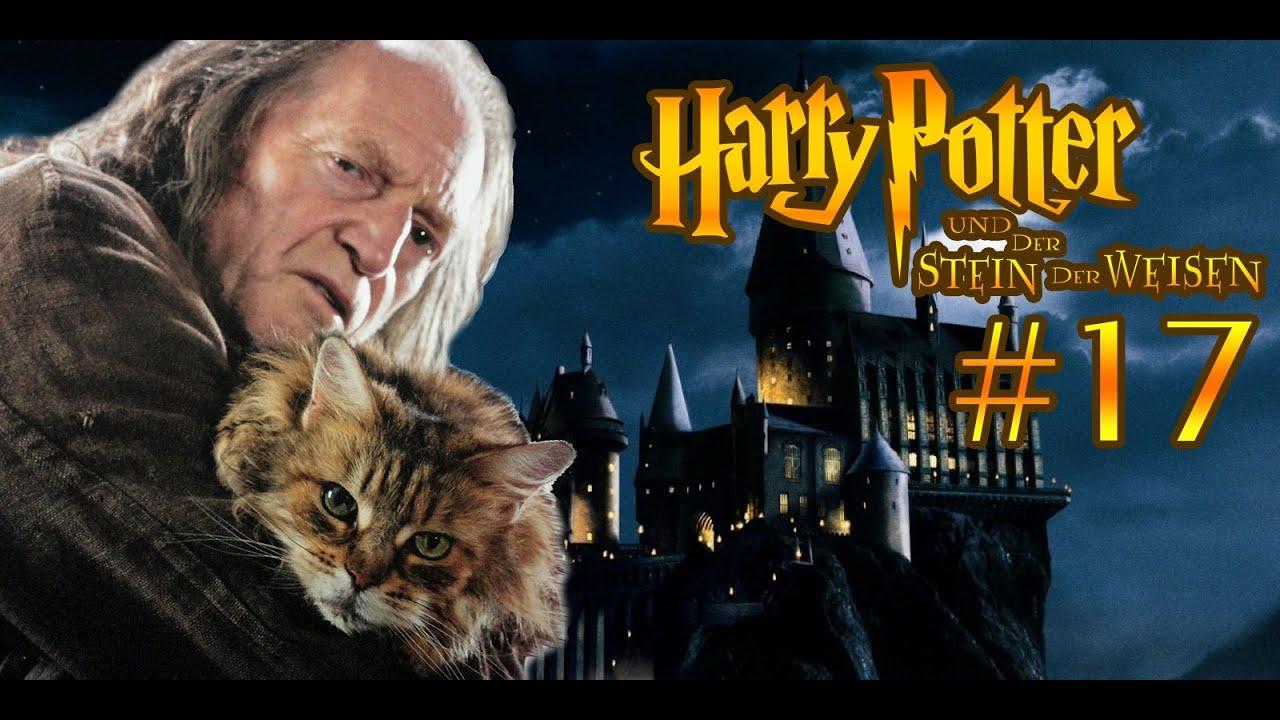 Filch Und Seine Katze Harry Potter Und Der Stein Der Weisen 017 Youtube