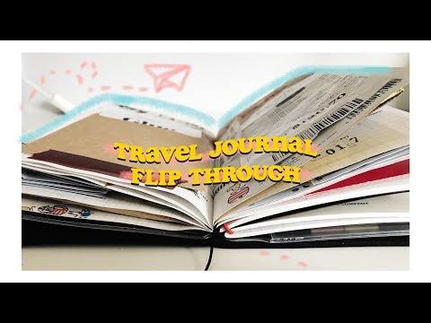 travel journal flip through [ melbourne + hobart ]